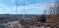 ФСК ЕЭС в 2019 году расчистит более 10 тыс. гектаров просек линий электропередачи на Дальнем Востоке