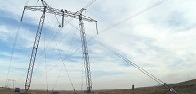 Federal Grid Company does unique works in Urals replacing insulation on a 500 kV line without de-energizing